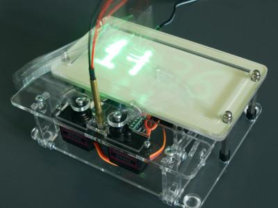 Laser Plot Clock - writingw