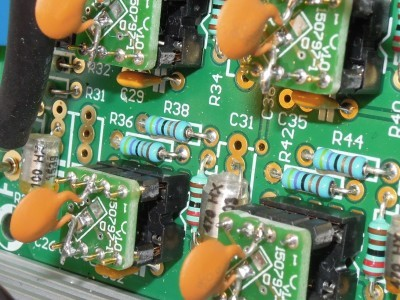 Necessary tweak (100 pF) of the adapter 150797-1 v1.0 in the Supra Phono Preamplifier