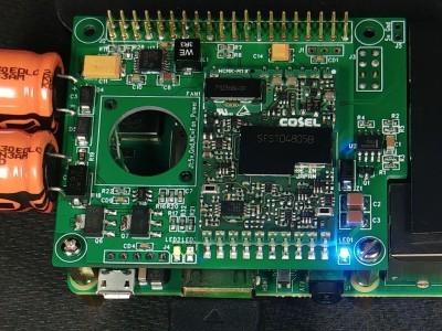 PoE powered RPi3B+