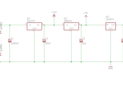 Power supply schematics
