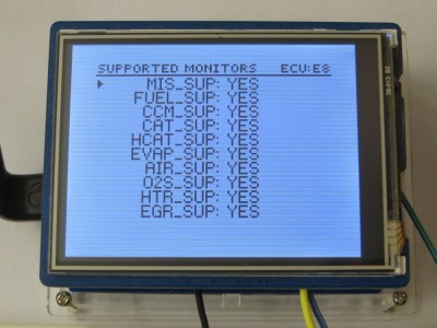 Supported Monitors List Menu