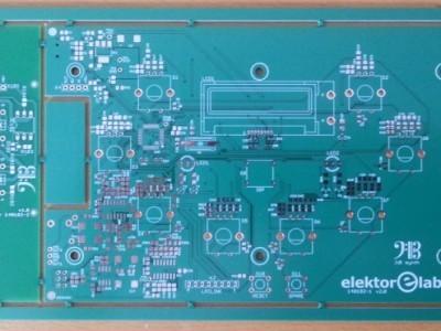 PCB V2 as a panel.