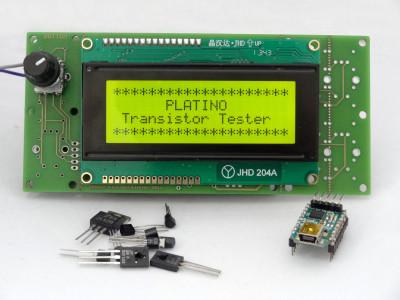 130544-1 Platino Transistor Tester