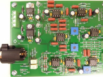 140571 Active 3way crossover for speaker system