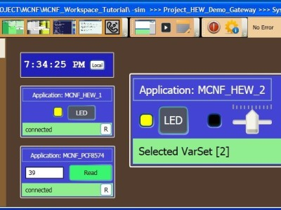 MCNF Micro-Controller Networking Framework