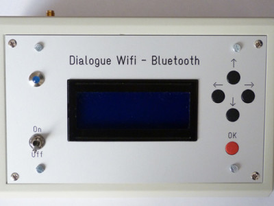 Bluetooth : All i want and where i want / Dialogue's Box Wifi – Bluetooth / Ready iOS and ANDROID smartphone [130351-I]