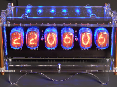 6-digit Nixie clock [150189, 180588]