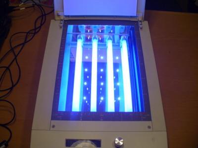 pcb UV light exposure / Belichtungssteuerung zum Platinenbelichten 130296-I