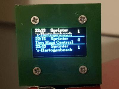 9292 dutch public transport monitor
