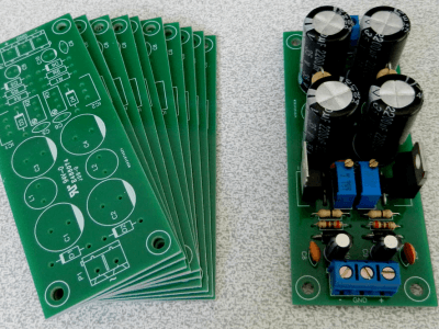 Adjustable Double-Output Linear Power Supply