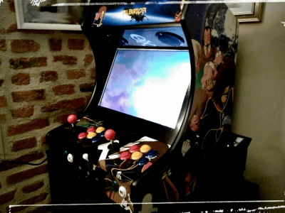 Arcade game controller for RPI