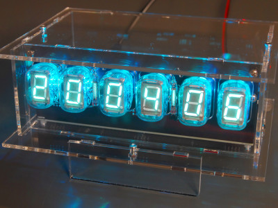 6-digit VFD Clock with ESP32