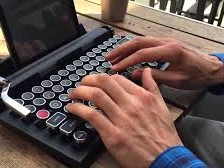 Qwerkywriter: Steampunk-toetsenbord voor smartphone en tablet