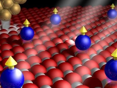 Magneten zo klein als een atoom