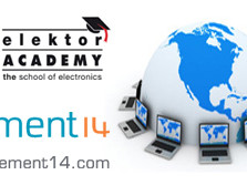 Elektor Academy/element14 webinar over twitteren met E-blocks