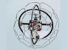 Vliegende robot voor ruw terrein
