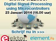 Elektor-webinar: Digital Signal Processing using Microcontrollers
