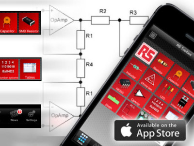 Gratis Toolbox-app van RS Components