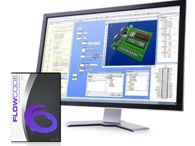 Nieuw: Flowcode V6 voor PIC, ARM, AVR en dsPIC