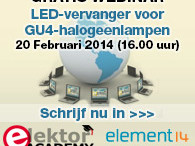 Elektor-webinar: LED-vervanger voor GU4-halogeenlampen