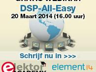 Elektor-webinar: Eenvoudig werken met DSP's