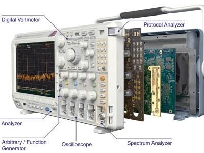 Zes meetinstrumenten in één oscilloscoop