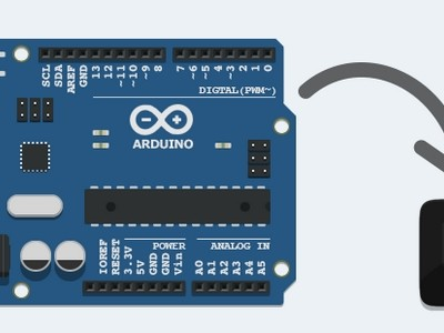 Ultra-compacte Arduino met display