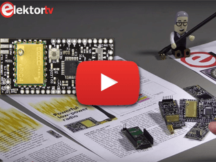 Elektor.TV | eRIC Nitro, energiezuinig Arduino-compatibel radio-transceiverboard