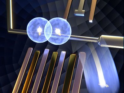 Elektronen één voor één opschuiven