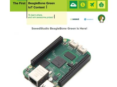 IoT-ontwikkelaarswedstrijd met BeagleBone Green