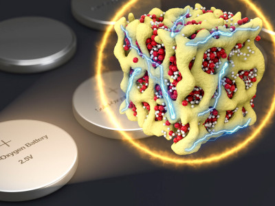 Nieuwe lithium-zuurstof accu met grotere energie-efficiëntie en langere levensduur