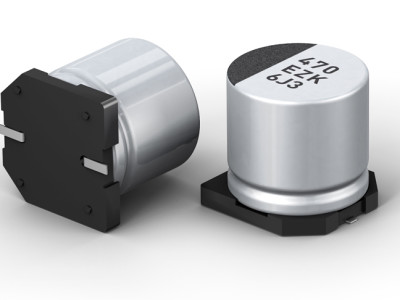 Elektrolyt + polymeer = hybride condensator