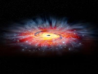 Virtuele telescoop maakt eerste afbeelding van zwart gat