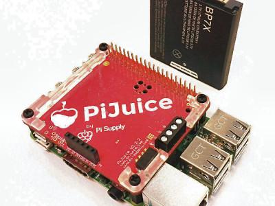 PiJuice - Onderbrekingsvrije voeding voor Raspberry Pi