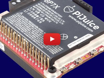 PiJuice: Mobiele power voor uw Raspberry Pi