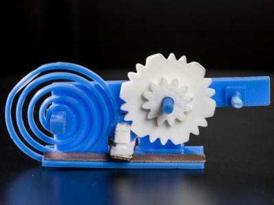 WLAN: Mechanische dataoverdracht met een 3D-print