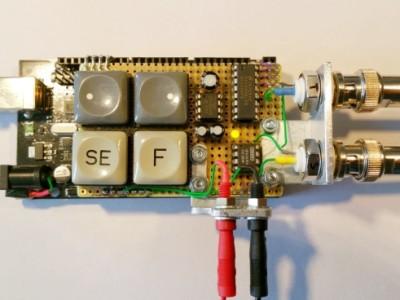 Project: Spanningslogger voor oscilloscoop