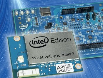 Elektor-praktijkboek over Intel Edison