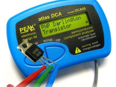 Win een Atlas DCA55 halfgeleider-analyzer