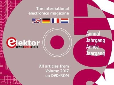 Elektor jaargang-DVD 2017 nu verkrijgbaar