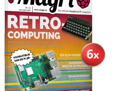 Word MagPi abonnee en ontvang een gratis Zero W Kit