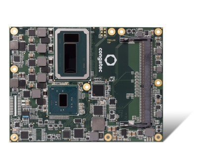 Congatec triples graphics performance of its Server-on-Modules