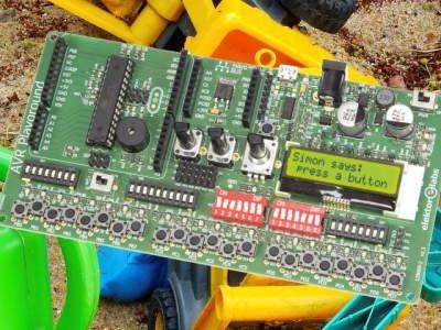 AVR Playground: veelzijdig Arduino-experimenteer-board