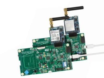 IoT-naar-cloud-verbinding via 2G/3G -mobiele data, of via NB-IoT