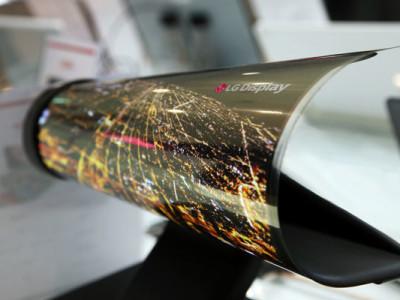 Oprolbaar OLED-display