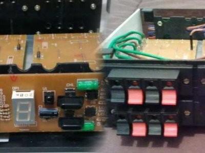Bouw een elektronische switch-box voor luidsprekers (met afstandsbediening)