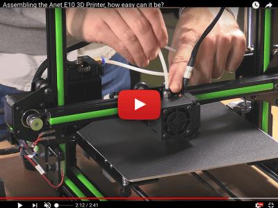 Anet E10: een nieuwe 3D-printerkit voor bliksemsnelle montage