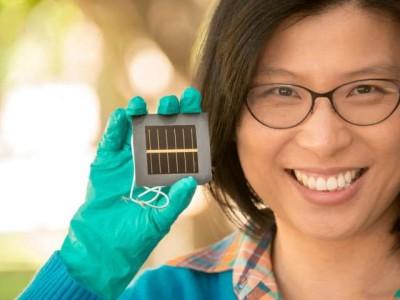 Nieuw record-rendement perovskiet zonnecellen