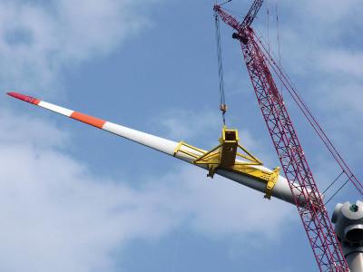 Windenergie opslaan in een enorme redox-flow-accu