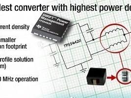 Kleinste DC/DC-converter voor 10 A
